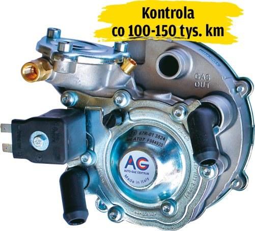 Regeneracja lub wymiana reduktora /Motor