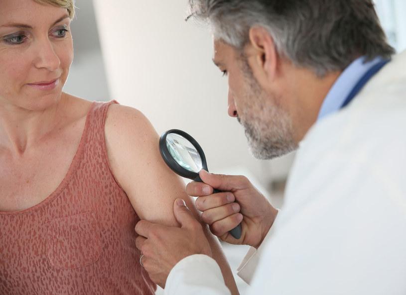 Regularne badania skóry to podstawa! /123RF/PICSEL
