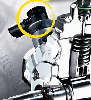 Regulator ciśnienia paliwa w silniku Diesla /Motor
