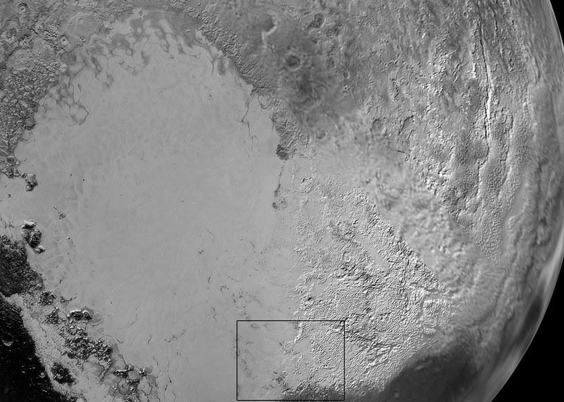 Rejon Sputnik Planum /NASA