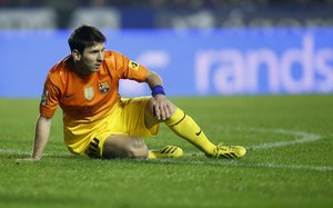 Rekord musi poczekać, Messi nie zagra z Deportivo Alaves