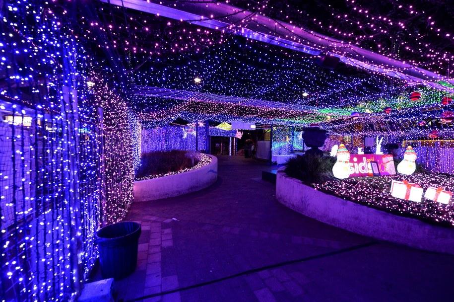 """Rekordowa"" bożonarodzeniowa dekoracja /ALAN PORRITT    /PAP/EPA"