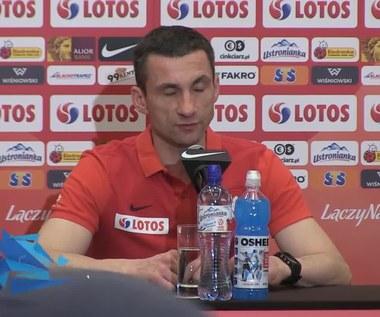 Remigiusz Rzepka o formie piłkarzy przed meczem z Czarnogórą (wideo)