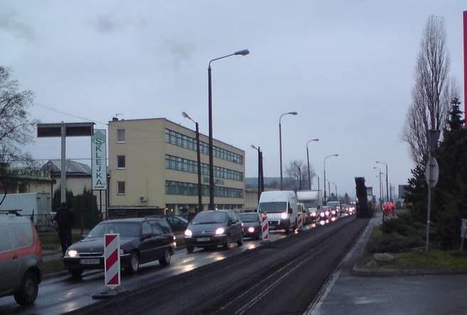Remont odcinka południowej jezdni ulicy Fordońskiej w Bydgoszczy  /Tomasz Fenske /RMF FM
