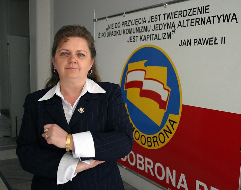 Renata Beger w 2006 r. /K.Zuczkowski /Agencja FORUM