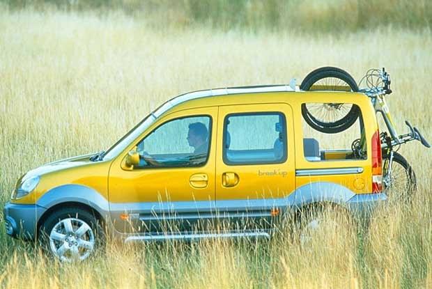"Renault Kangoo ""break'up"" (kliknij) /INTERIA.PL"