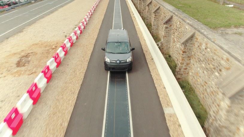 Renault Kangoo Z.E. na odcinku testowym /