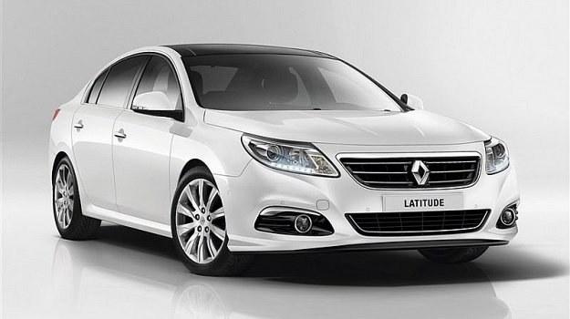 Renault Latitude to bliźniak Samsunga SM5. Oba modele powstają w Korei Południowej. /Renault