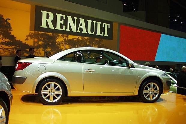 Renault Megane cc (kliknij) /INTERIA.PL