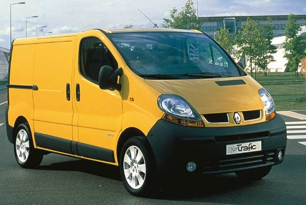 Renault new trafic/kliknij /INTERIA.PL