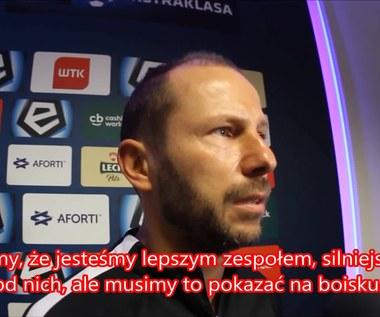 Rene Poms, drugi trener Lecha Poznań. Wideo