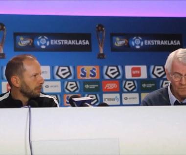 Rene Poms po meczu z Legią (3-0). Wideo