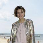 Renulka Wojewódzkiego pozuje na piasku