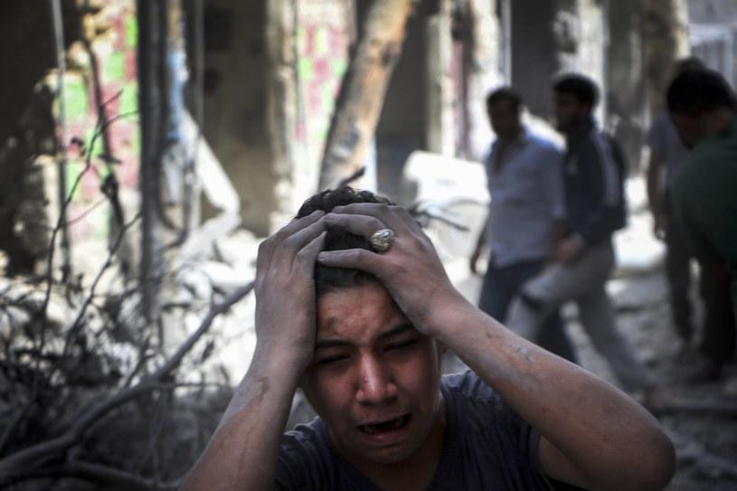 Reporterzy i fotoreporterzy relacjonują wydarzenia na całym świecie, także w regionach ogarniętych wojną /Getty Images
