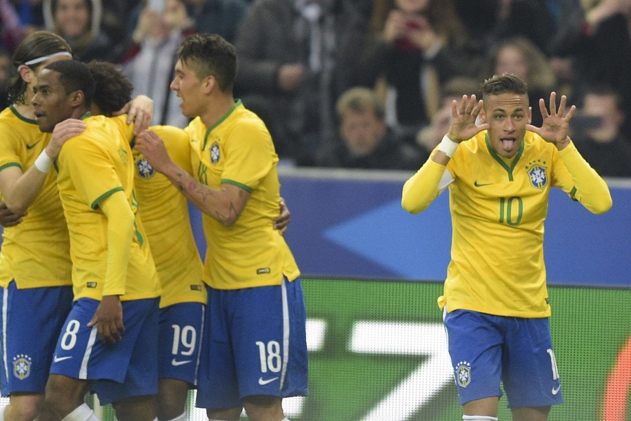 Reprezentacja Brazylii /Panoramic/JB Autissier   /PAP/EPA