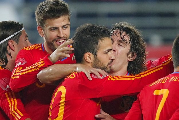 Reprezentacja Hiszpanii to faworyt MŚ, ale Boniek widzi go też w Argentynie i Holandii /AFP
