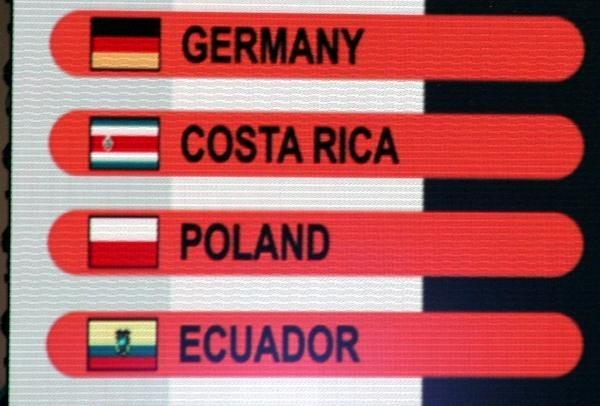 Reprezentacja Polski trafiła do grupy A MŚ'2006 /INTERIA.PL