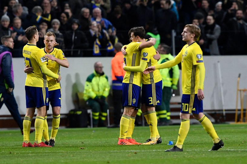 Reprezentanci Szwecji /AFP