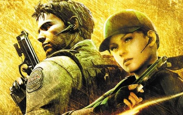 Resident Evil 5 - motyw graficzny /Informacja prasowa