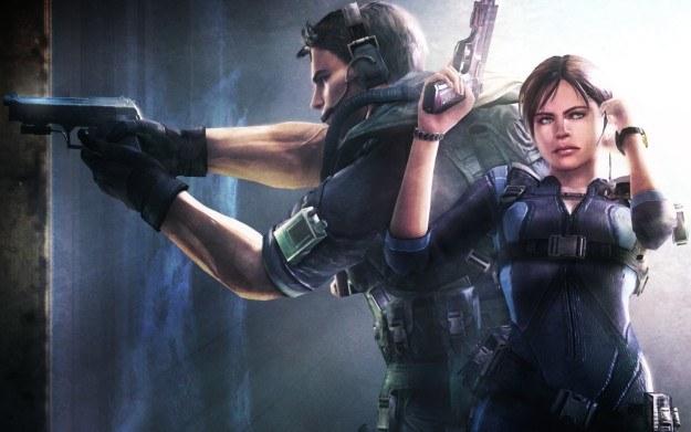 Resident Evil: Revelations - motyw graficzny /Informacja prasowa