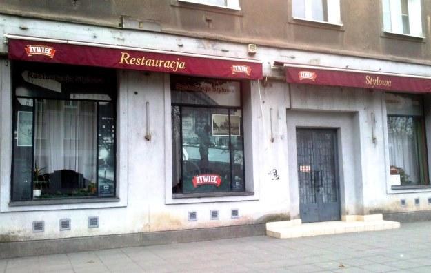 """Restauracja """"Stylowa"""", fot. Katarzyna Jasińska /INTERIA.PL"""