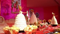 Restauracja w stylu Barbie