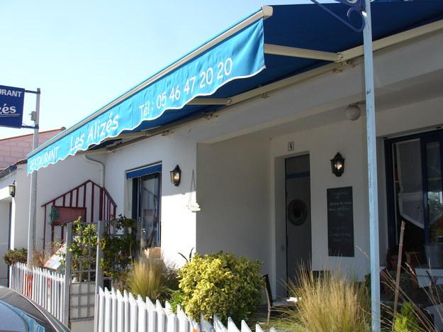 Restauracje - na wyspie d'Oléron, Les Alizés