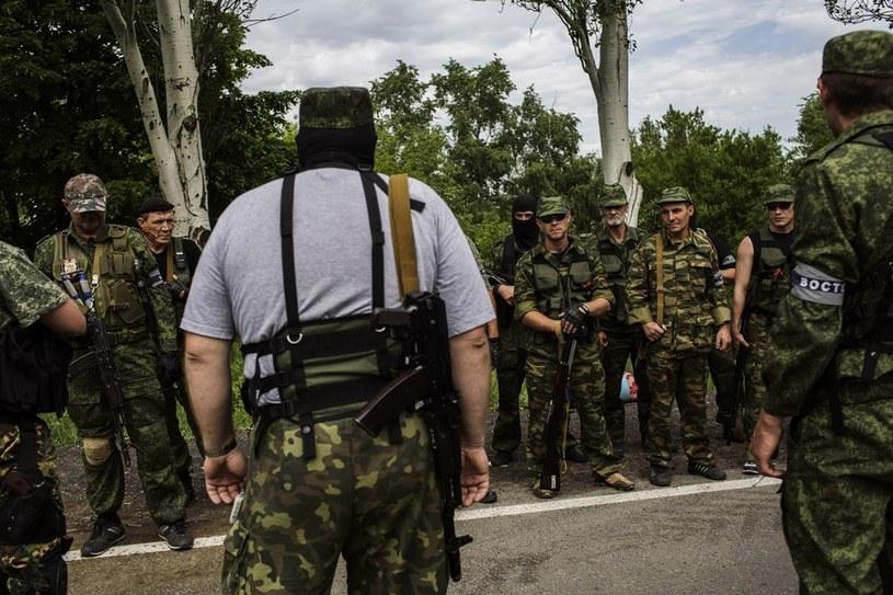 Restrykcje dotyczą osób, które przyczyniły się do naruszenia integralności Ukrainy /FABIO BUCCIARELLI  /AFP