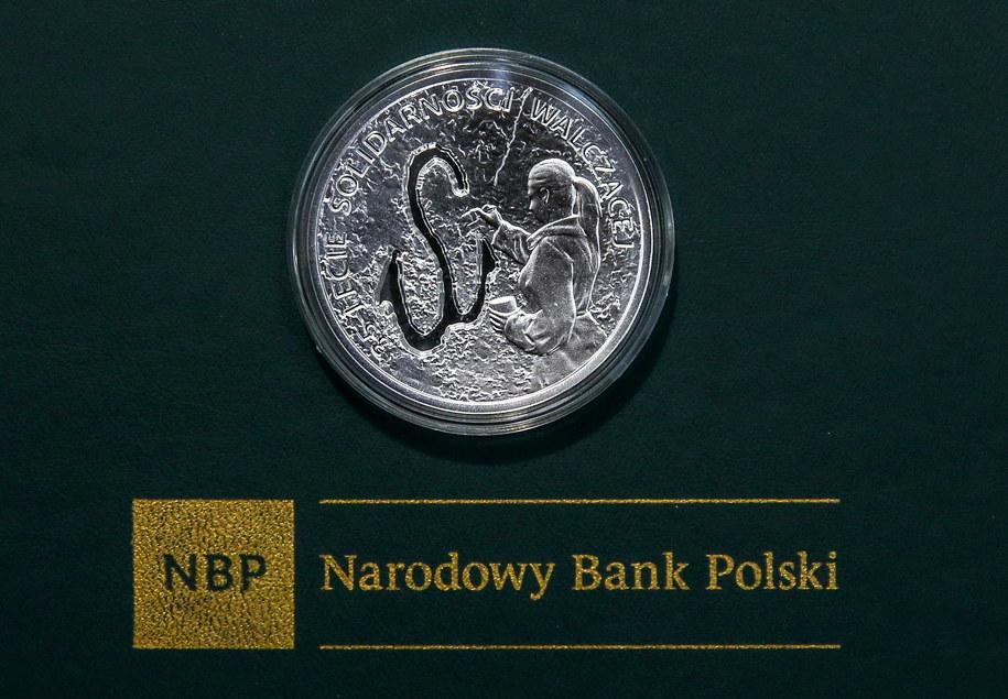 Rewers monety /Rafał Guz /PAP