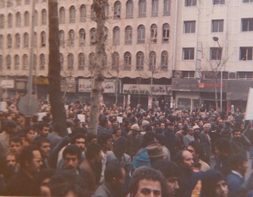 Rewolucja islamska z 1979 roku                Fot: Maziar Bahari /