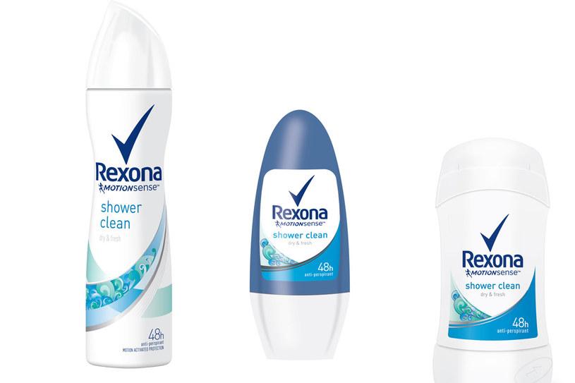 REXONA SHOWER CLEAN /materiały prasowe