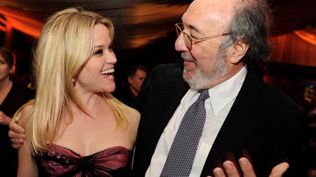 Reżyser James L. Brooks wyjaśnia aktorce, że ta trochę przesadza - fot. Kevin Winter /Getty Images/Flash Press Media