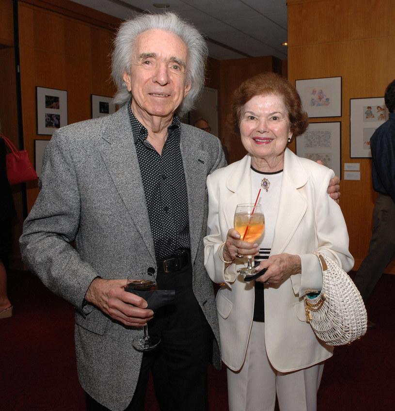 Reżyser z ukochaną żoną, Gwen /Getty Images