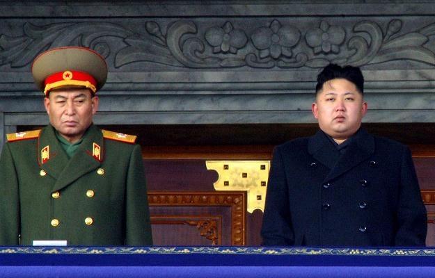 Ri Jong Hon i Kim Dzong Un /AFP