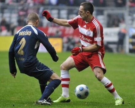 Ribery chce opuścić klub z Monachium. Czy trafi do Chelsea? /AFP
