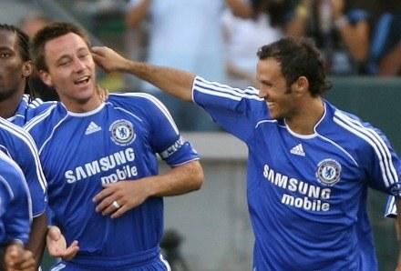 Ricardo Carvalho do Johna Terrego : Doczekałeś się kolego dużej kasy /AFP
