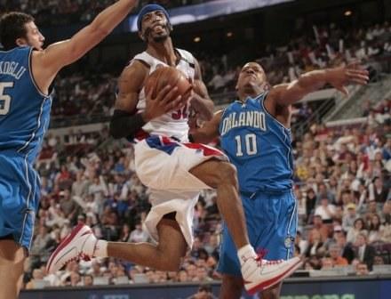 Richard Hamilton z Detroit Pistons /AFP