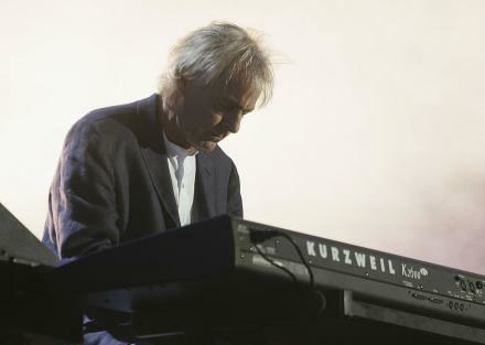 Richard Wright (Pink Floyd) na Live 8 - fot. MJ Kim /Getty Images/Flash Press Media