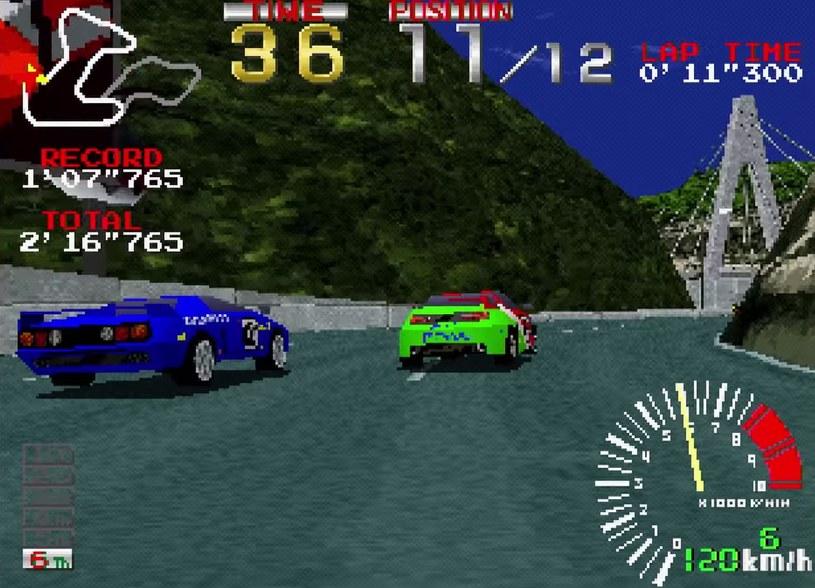 Ridge Racer - szalone wyścigi, które dostarczały maksimum funu /materiały źródłowe