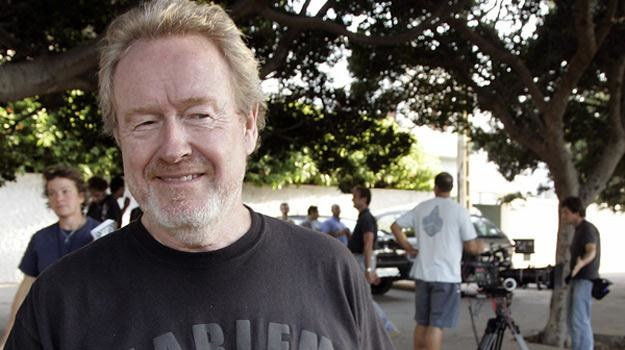 Ridley Scott - temu twórcy nie brak pomysłów /AFP