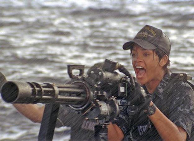 """Rihanna w filmie """"Battleship - Bitwa o Ziemię"""" /materiały dystrybutora"""