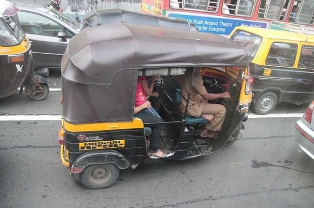 Riksze to podstawowy środek lokomocji  w Indiach /INTERIA.PL