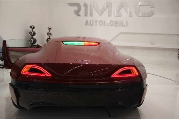 Rimac concept one na IAA 2012 /INTERIA.PL