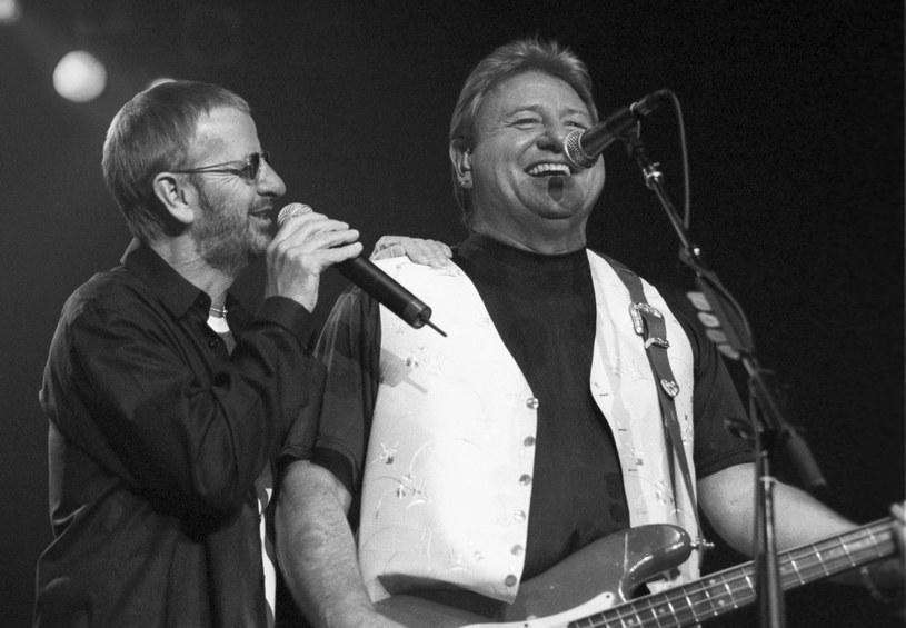 Ringo Starr i Greg Lake razem na scenie /Scott Harrison /Getty Images