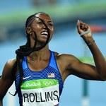 Rio 2016. Brianna Rollins ze złotym medalem olimpijskim w biegu na 100 metrów przez płotki