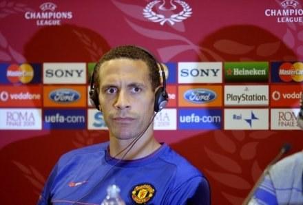 Rio Ferdinand doznał kontuzji /AFP