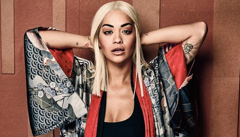 Rita Ora w japońskim stylu