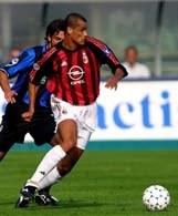 Rivaldo strzelił w Bergamo swego 1. gola w Serie A