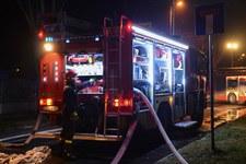 RMF: Pożar w Jarosławcu. Spłonął m.in. dach przedszkola