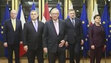 RMF: Udane spotkanie Junckera z premierami Grupy Wyszehradzkiej